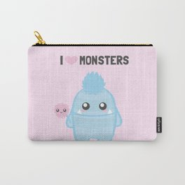 I love Monsters Carry-All Pouch