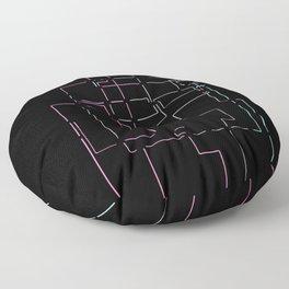 MADRID METRO Floor Pillow