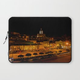 Lisbon by night Laptop Sleeve