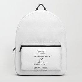 Basquiat Cowboy Backpack