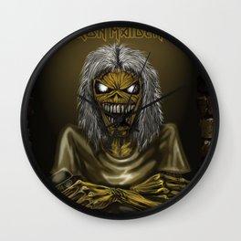 iron maiden album 2021 katrin12 Wall Clock