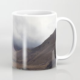Roadtripping around New Zealand's South Island, Under a Thick Layer of Cloud Coffee Mug