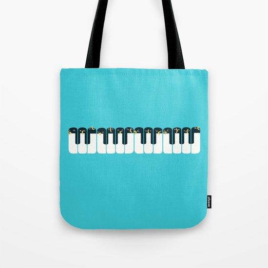 The Choir of Antarctica Tote Bag