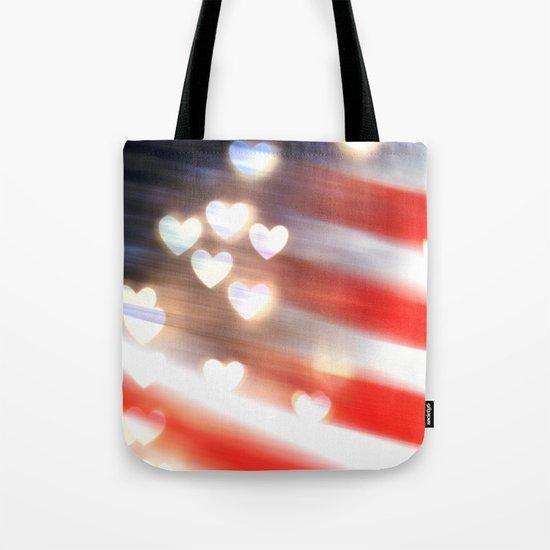 A Love as Big as America Tote Bag
