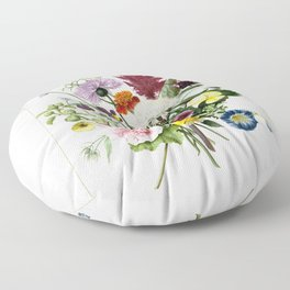 Flower bouquet 1680 Floor Pillow