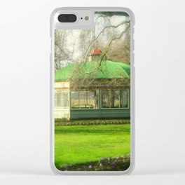 The Statuary Pavilion Clear iPhone Case