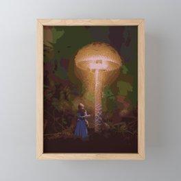 ALICE IN WONDERLAND (PAINTING) Framed Mini Art Print
