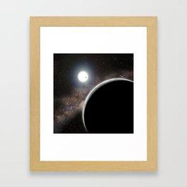 Kepler Framed Art Print