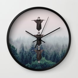 Spirit of the Woods Wall Clock