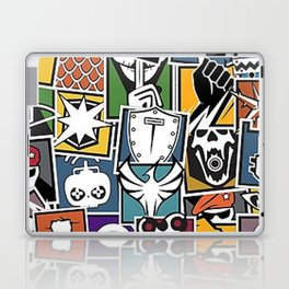 Rainbow 6 Operator Sticker Bomb Laptop & iPad Skin