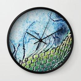 gravura colagraf landscape 01 Wall Clock