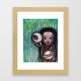 Never Alone Framed Art Print