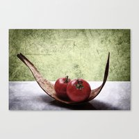 vegetable Canvas Prints featuring Vegetable by Angela Dölling, AD DESIGN Photo + Photo
