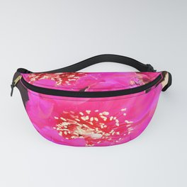 Beavertail Cactus in Bloom - III Fanny Pack