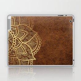 Mandala - Leather Laptop & iPad Skin