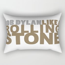 Bob DYLAN #GOLD Rectangular Pillow