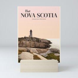 Visit Nova Scotia Mini Art Print