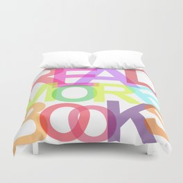 READ MORE BOOKS Duvet Cover