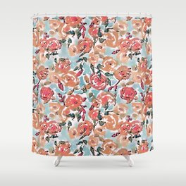 Spring Flor Adore Shower Curtain