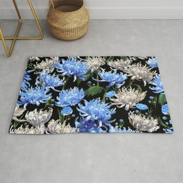 Blue Mums Design — L Diane Johnson Rug