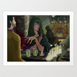 Witches Tavern Art Print