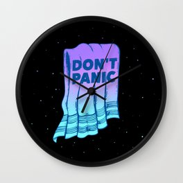 Hoosier's Guide to the Galaxy Wall Clock