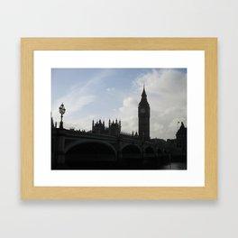 Big Ben in Early Light Framed Art Print