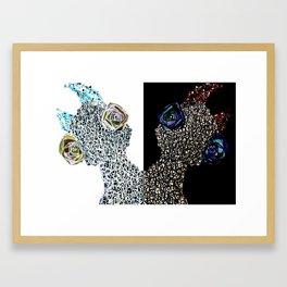 Siamese Things Framed Art Print