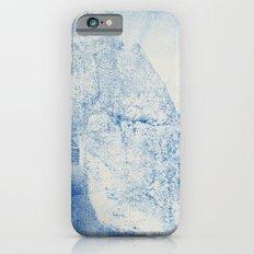 Gum arabic print of rock iPhone 6 Slim Case