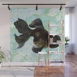Black Goldfish Wall Mural