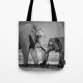 A Special Elephant Moment Tote Bag