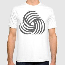 wirbelnde sonne T-shirt