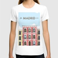 real madrid T-shirts featuring Madrid by Sara Enriquez