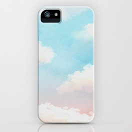Cloudy Sunset iPhone Case