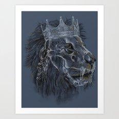 king forever Art Print