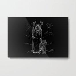 Völva Metal Print