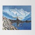 Panoramic View Of Annapurna Mountain Nepal by whimsyart