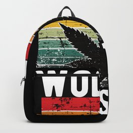 World Dopest Dad Weed 420 Cannabis Backpack