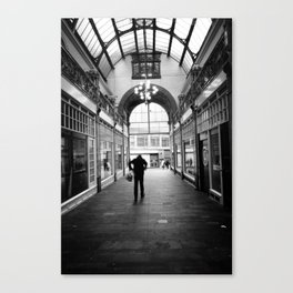 Kinetic disposition Canvas Print