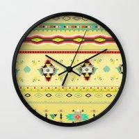 southwest Wall Clocks featuring southwest by studiomarshallarts