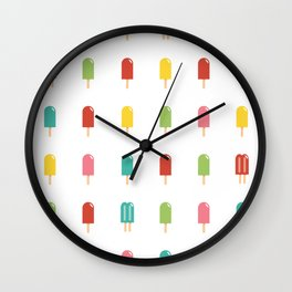 Popsicle - Retro #754 Wall Clock