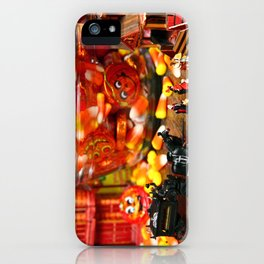 Count & Countess Dracula took their daughters trick or treating at the Van Helsing's. iPhone Case