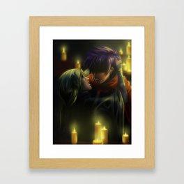 Ike and Soren Framed Art Print