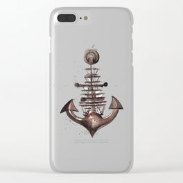 Ship's Anchor Clear iPhone Case