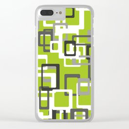 Pattern Abstract Clear iPhone Case