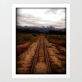 Yukon Railway Art Print