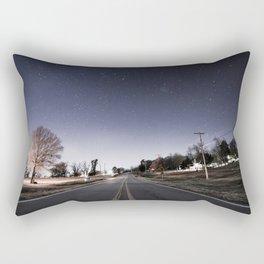 Night Sky 01 Rectangular Pillow
