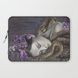 Watercolor Snake Art Laptop Sleeve