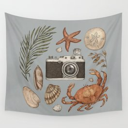 Summer Beach Collection Wall Tapestry