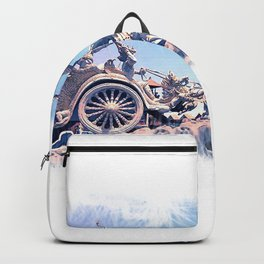 colossal horse statue Backpack